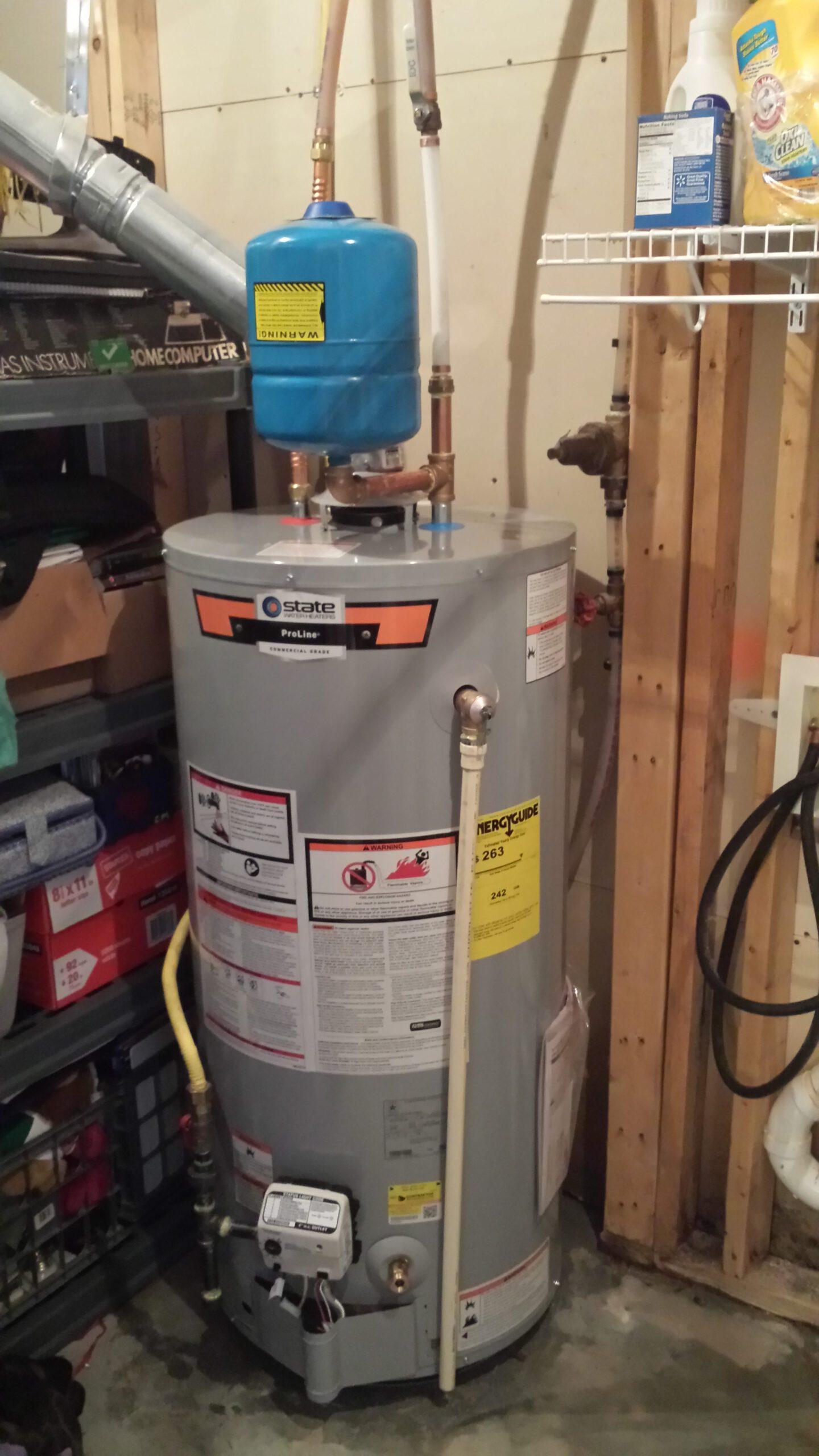 Standard Water Heaters Raleigh Plumbers Golden Rule