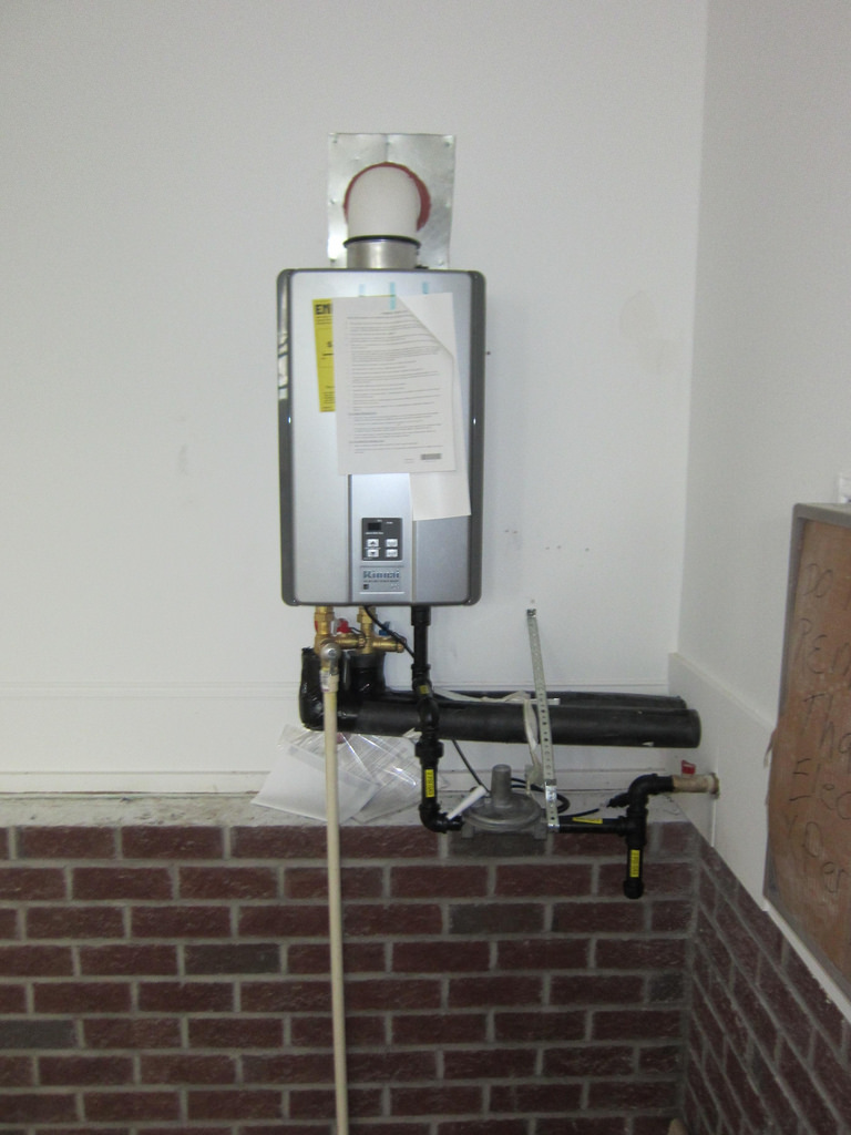 Tankless Water Heaters Raleigh Plumbers Golden Rule