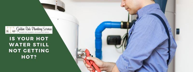 Hot Water Not Getting Hot Still? Here's how to handle a broken hot water heater.