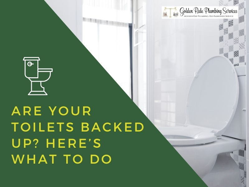 Are Your Toilets Backed Up? Here's What To Do