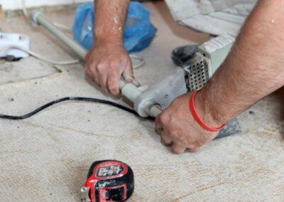 emergency burst pipe repair
