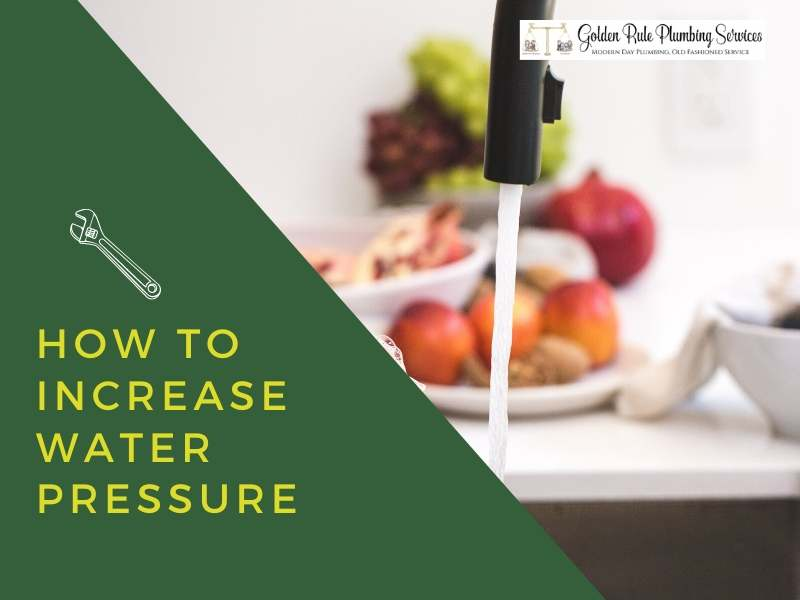 How to Increase Water Pressure