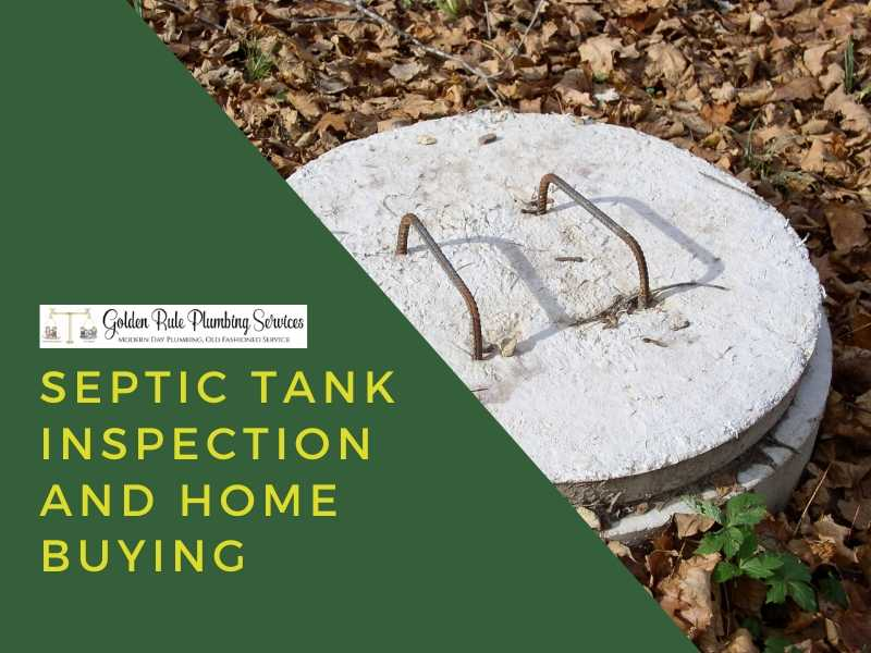 Septic Tank Inspection and Home Buying